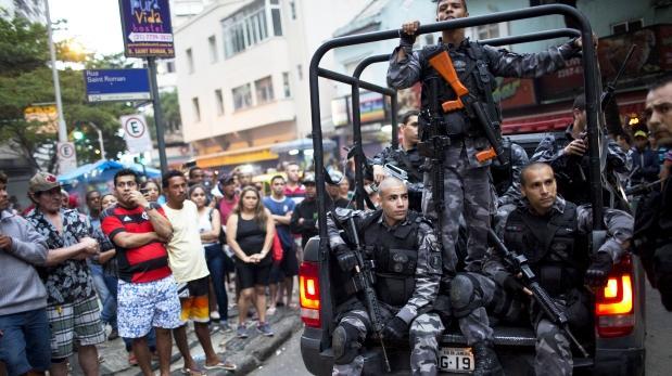 Brasil: La crisis de violencia se agudiza en Río de Janeiro
