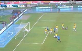 Colombia vs. Uruguay: 'Cebolla' Rodríguez marcó empate charrúa
