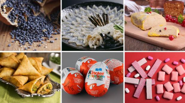 ¿En qué países del mundo están prohibidos estos alimentos?