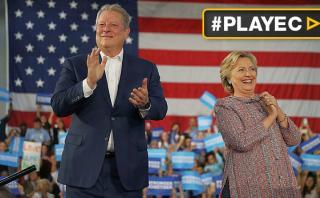 "Al Gore apoya a Hillary Clinton: ""Cada voto cuenta"""