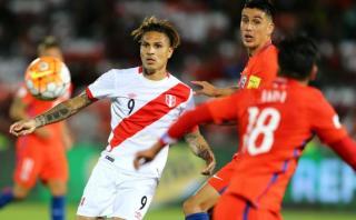 Perú cayó 2-1 ante Chile en Santiago por las Eliminatorias