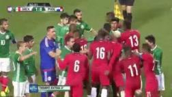 Selección mexicana: duelo amistoso tuvo bronca sobre el final