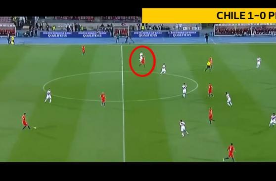 Perú vs. Chile: ¿Quién marcaba a Arturo Vidal? [FOTOS]