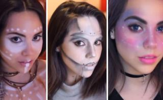 3 increíbles maquillajes para usar en Halloween [VIDEO]