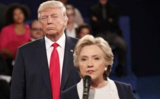 Trump insinúa que Clinton consumió drogas antes del debate
