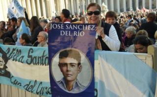 """México: El """"niño mártir"""", nuevo santo canonizado por el papa"""