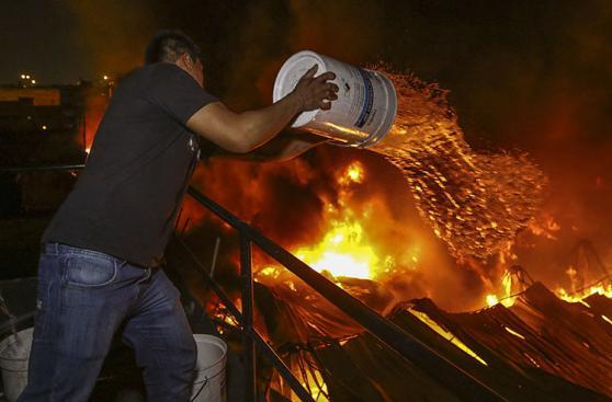 El Agustino: la tragedia que cobró vida de 3 bomberos [FOTOS]