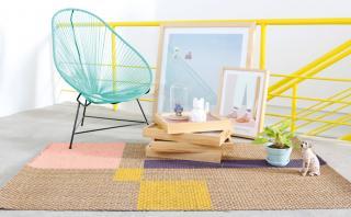 Dale un nuevo look a tus alfombras con toques de pintura