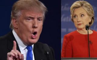#DrainTheSwamp: El hashtag con el que Trump ataca a Clinton