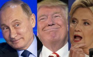 Putin, el otro gran protagonista del debate Clinton - Trump