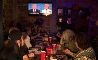 Así vivieron en México el último debate entre Clinton y Trump