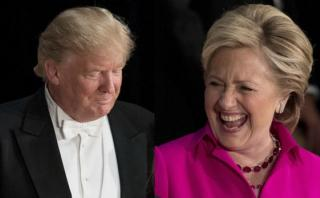 Trump - Clinton: 9 bromas que se lanzaron en una cena benéfica