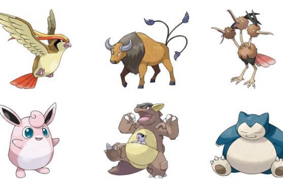 Pokémon Go: estos son los pokémones de tipo normal más fuertes
