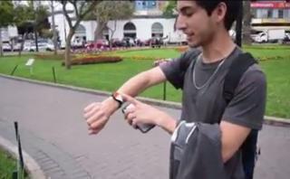 Miraflores: joven probó Pokémon Go Plus y este fue el resultado