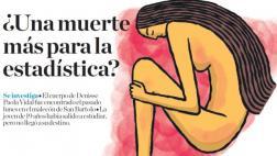 Feminicidio: casi 900 mujeres asesinadas en menos de 8 años