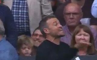 La reacción de Luis Enrique con jugador que lesionó a Iniesta