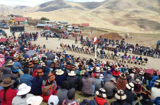 d11a4f7f ... Las Bambas: Gobierno planteó 45 días de tregua a comuneros ...