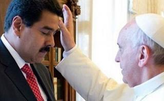 Papa recibió de sorpresa a Nicolás Maduro en el Vaticano
