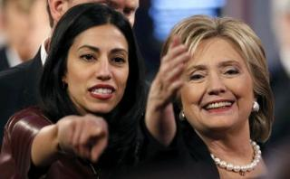 Huma Abedin, la asesora de Clinton perseguida por el escándalo