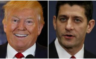 El jefe de los republicanos votó por Trump pese a discrepancias