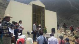 Mausoleo en Comas: rinden culto a presos muertos en El Frontón