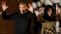 "Los Obama bailaron ""Thriller"" por Halloween [VIDEO]"