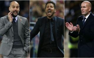 Guardiola, Simeone y Zidane, candidatos a Mejor Entrenador FIFA