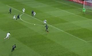 Real Madrid: Bale marcó un golazo de volea a los 58 segundos