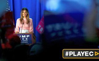 """Melania Trump: """"Seré una defensora de las mujeres y los niños"""""""