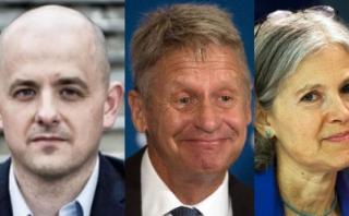 Ni Clinton ni Trump: Los otros candidatos a la presidencia