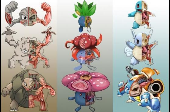 Pokémon Go: artista diseña el interior de los pokémones
