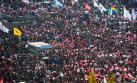 Multitud exige renuncia de la presidenta de Corea del Sur