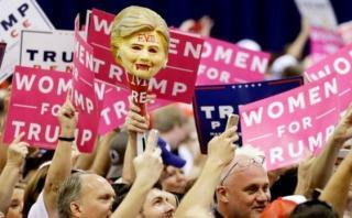 BBC: Las extremas divisiones que reveló la campaña en EE.UU.