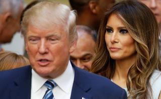 Melania Trump trabajó en EE.UU. sin permiso legal