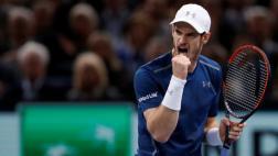 Andy Murray celebró el número 1 con triunfo en Masters de París