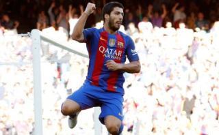 Barcelona: Luis Suárez marcó segundo gol culé ante Sevilla