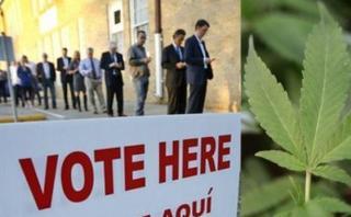 Marihuana e impuestos: Temas que también se votarán en EE.UU.