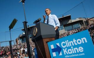 """Barack Obama: """"Hagan por Hillary lo que han hecho por mí"""""""
