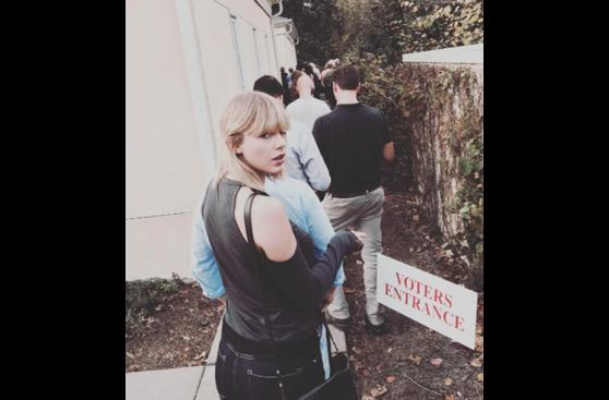 Elecciones en EE.UU.: celebridades acudieron a votar [FOTOS]