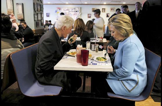 Las fotos más curiosas de Hillary Clinton y Donald Trump