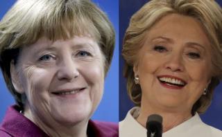 Merkel: Victoria de Clinton aportará a la igualdad de género