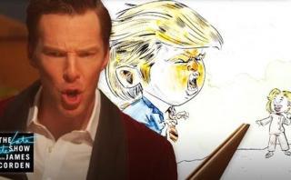 "YouTube: Benedict Cumberbatch relata un ""cuento de elecciones"""