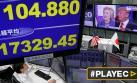 Mercados en Asia y Dow Jones se desploman por temor a Trump