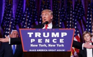 """Donald Trump: """"Estarán muy orgullosos de su presidente"""""""