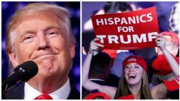 Trump consiguió más votos de latinos que Romney en el 2012