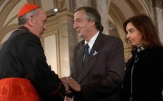 """Papa Francisco: """"Néstor Kirchner realmente no me soportaba"""""""