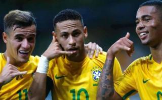 Brasil ganó 3-0 a Argentina y sigue de líder en Eliminatorias