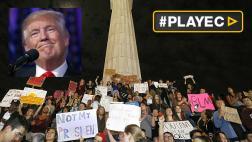 Protestas contra Trump vuelven a las calles de EE.UU. [VIDEOS]