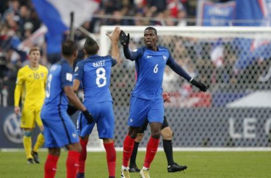 Francia venció 2-1 a Suecia en Eliminatorias europeas 2018