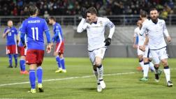 Italia goleó 4-0 a Liechtenstein por Eliminatorias europeas